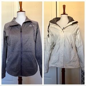 The North Face Coat With Zip In Jacket